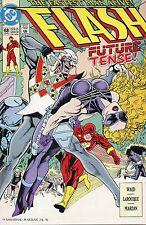 1992 FLASH  #68 FUTURE TENSE ( BEAT THE CLOCK )  DC COMICS VF+