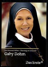 Gaby Dohm Um Himmels Willen Autogrammkarte Original Signiert ## BC 31334