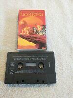 Elton John - Circle Of Life - Cassette Single
