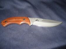 Ozark Trail All Purpose Utility Knife with custom leather sheath