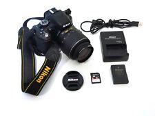 Nikon D5100 16.2MP DSLR Camera w/ AF-S DX 18-55mm VR lens - Only 4,747 Clicks!