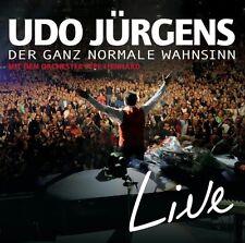 UDO JÜRGENS - DER GANZ NORMALE WAHNSINN-LIVE  2 CD  DEUTSCHER SCHLAGER  NEU