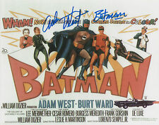 ADAM WEST Signed 10x8 Photo BATMAN AND ROBIN COA