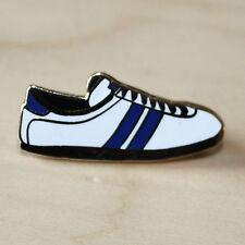 Entrenador de esmalte blanco y azul estilo Insignia-Fútbol/Rugby-oeste, Brom/Baño