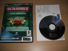 SCRABBLE Interactive 2005 Edition Pc Cd Rom FO - FAST DISPATCH