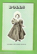 #D95. 1969 DOLL PICTORIAL BOOKLET OF DOLLS FROM THE VICTORIA AND ALBERT MUSEUM