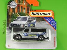 Matchbox 2019 - Nissan Mv Van - MBX Service - 84 - New Original Packaging