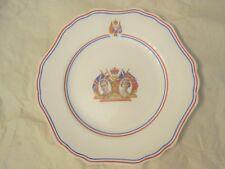"BRITISH CORONATION PLATE 10-1/4"" - HM KING GEORGE VI & HM QUEEN ELIZABETH"