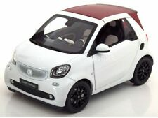 Smart Model Cars, Mercedes, 1/18 Scale, Smart 2 Seater - White