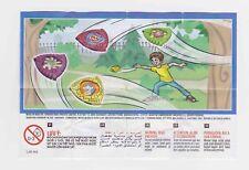 Komplettsatz Frisbees SE528 - SE528A mit 2 BPZ aus Israel