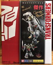 Transformers TRU Masterpiece Grimlock Signed By Gregg Berger At Botcon 2016 MISB