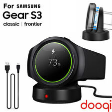 For Samsung Gear Sport S3 S2 Classic Wireless Fast Charging Dock Cradle Charger