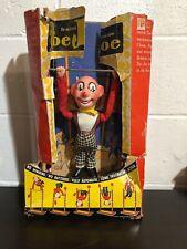 Vintage Mechanical Tin Toy Trapeze Clown Ohio Art USA