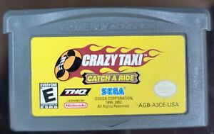 Crazy Taxi Catch A Ride GBA Gameboy Advance