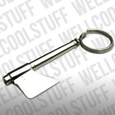 SNORTING TUBE WITH BUILT IN CHOPPER BLADE,BE , AXE KEYRING SNUFF TUBE, SNORTER