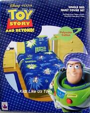 ~ Toy Story - BUZZ & WOODY DOONA SINGLE BED BEDROOM QUILT COVER SET