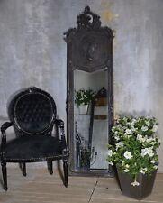 Miroir Glace Baroque Sculpte Noir Patine Style Vintage Shabby Shic 174 cm Hotel