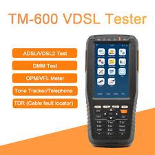 TM-600 VDSL VDSL2 Tester for xDSL Line test and Maintenance Tools ADSL VDSL2 DMM