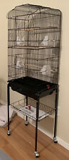 Rolling Bird Cage with Stand