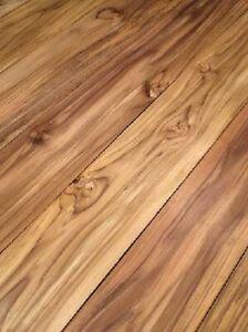 Teak Brett Holz Bohle Teakholz Massivholz rustikal 122x14cm 24mm