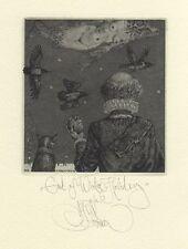 Konstantin Kalinovich, Kalynovych exlibris etching