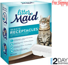 LitterMaid Waste Receptacles, Disposable/Sealable 18-count 3rd Edition Box New