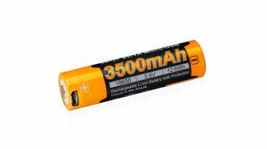 Fenix ARB-L18-3500U 18650 Li-Ionen-Akku mit Micro USB Buchse 3500mAh