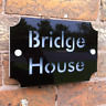 personalised acrylic HOUSE SIGN PLAQUE with house number & street name | door mo