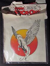 1973 Giant Stick-Ons WILLIAM STOUT Winged Horse 13x15 Sealed National Trading