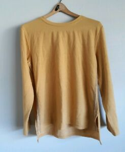Cuddl Duds Women's Petite Sleepshirt PL Comfortwear Yellow A368081