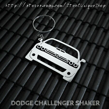 Dodge Challenger RT Shaker Stainless Steel Keychain