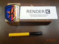 Karas Kustoms Render K Prototype Derlin Body Black & Yellow  (New in Box)