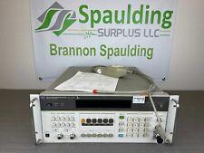 Agilent 8902a 150khz 13ghz Measuring Receiver With 11792a Sensor Loaded Amp Cald