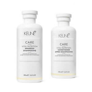 Keune Care Vital Nutrition Shampoo 300ml & Conditioner 250ml DUO