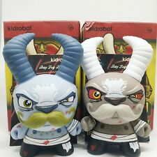 """DUNNY SIDE SHOW SCRIBE BAY FOG BAWLER SET 3"""" 2013  CHASE KIDROBOT JANKY QUICCS"""