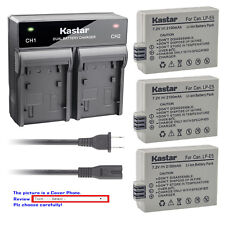 Kastar Battery Quick Charger for Canon LP-E5 LC-E5 & Canon EOS Kiss X3 Camera