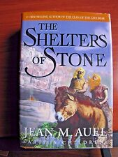 The Shelters of Stone - by Jean Auel - 2002 HCDC First Ed - Earths Children Bk 5