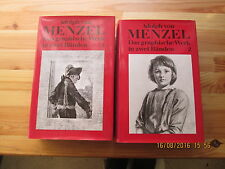 Adolph di Menzel: l'opera grafica in due volumi. casa Editrice Manfred Pawlak.