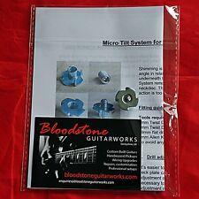 Guitar Neck Angle Adjuster Micro Tilt Fender Bolt On Type +Fitting & Setup Guide