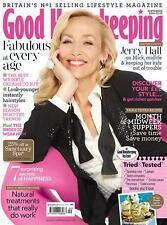 Good Housekeeping Magazine September 2014,Jerry Hall,Daphne Selfe,Gill Tree NEW