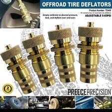 Offroad Jeep Tire Deflators Set of 4