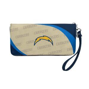Los Angeles Chargers NFL Women's Curve Zip Organizer Wallet / Purse