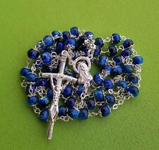 Virgin Mary rosary w/ four basilicas in Rome - Vatican - Blessed by Pope