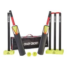 Crazy Cricket Set | Quick Cricket Set | Suitable for approx ages 8-13 years