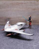 2010 Hasbro Naboo Star Skiff With Anakin Skywalker Figure