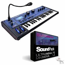 Novation Mininova Compact Studio live Synth USB/MIDI Mini Nova Synthesizer