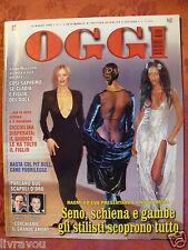 ▬►Oggi 03/1998 Noami Campbell_Eva Herzogiva_Albert Monaco_Di Caprio_Mode Fashion