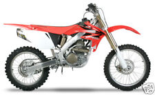 06-09 CRF250R Two Brothers Carbon Fiber Slip On Exhaust 2006 2007 2008 2009