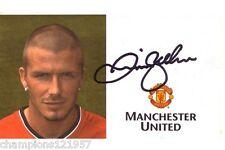 David Beckham ++Autogramm++ ++Manchester United++