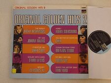 ORIGINAL GOLDEN HITS 2 LP Sunset Rec. 196? Cher Johnny Rivers Vikki Carr
